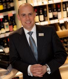 Andy Davies Manager of Marlboroughs Waitrose