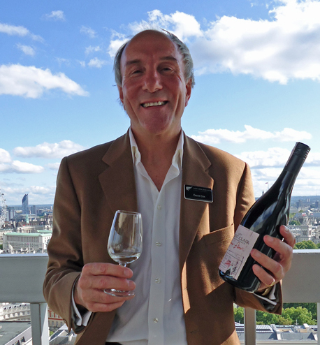 As New Zealand celebrates its largest-ever wine harvest, there's a smile on the face of David Cox