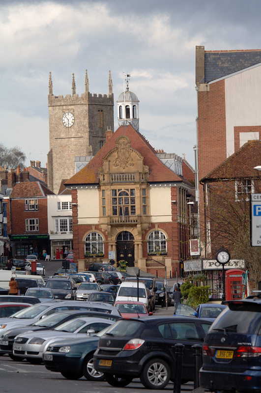 St Mary' Church and Town Hall