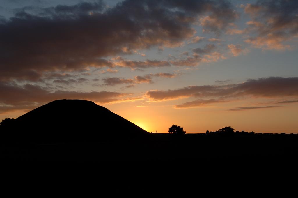 Silbury at Sunset