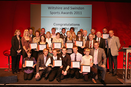 Wiltshire and Swindon Sports Awards 2011 winners