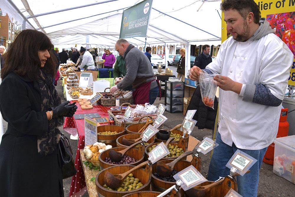 Providing that Mediterranean twist: Chris Lugg of Olives'n'Stuff