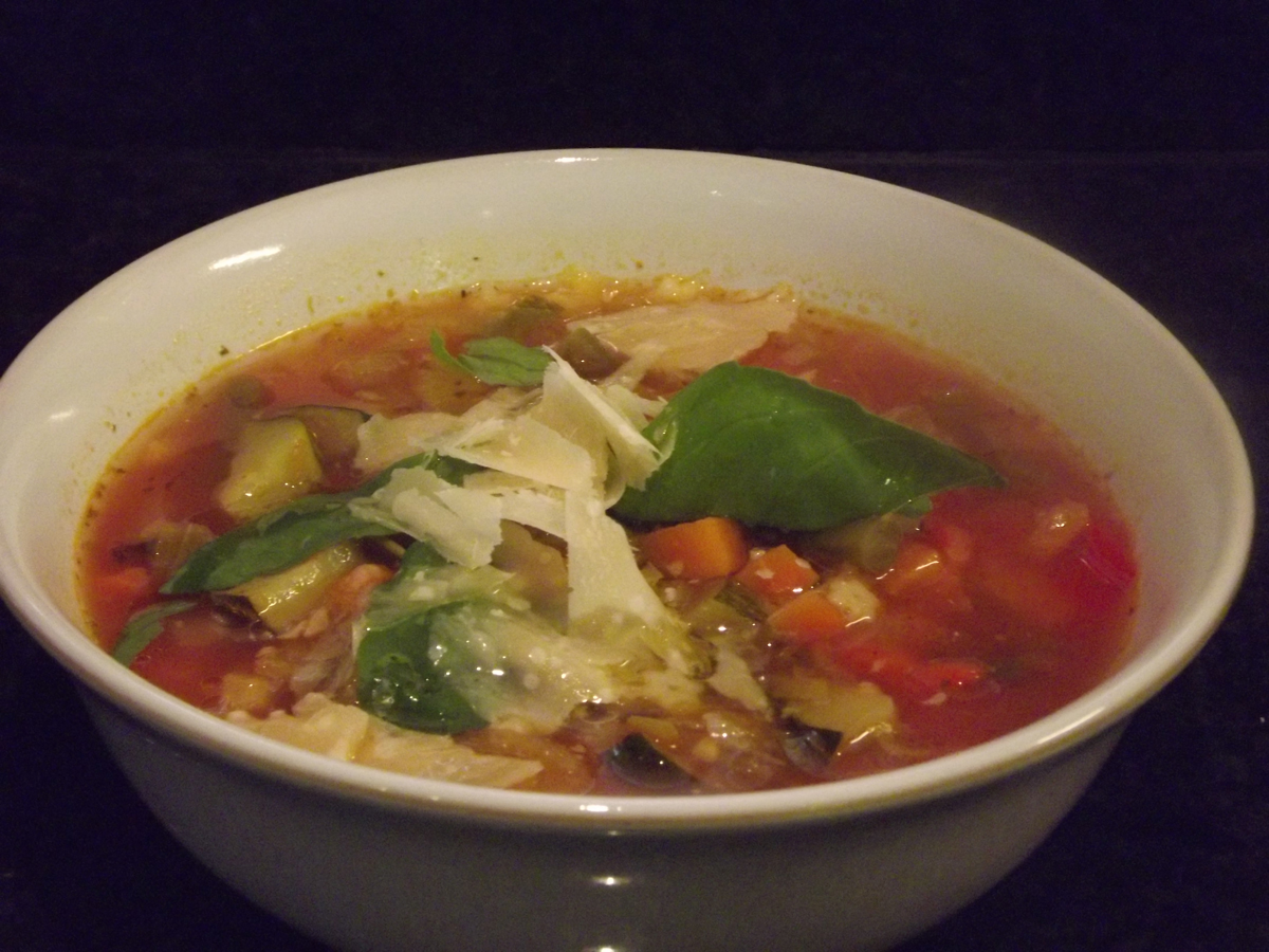 Androulla's minestrone soup