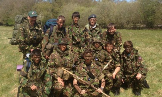 Members of the Marlborough Air Cadets Squadron on a recent exercise