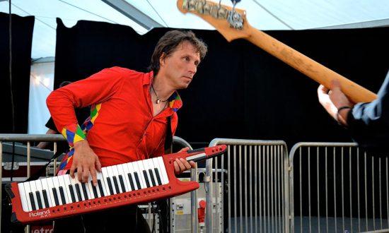 Bandleader Neil Drinkwater