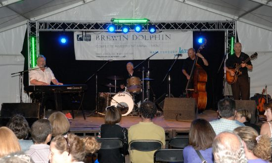 Steve Clayton at the Brewin Dolphin Bandstand