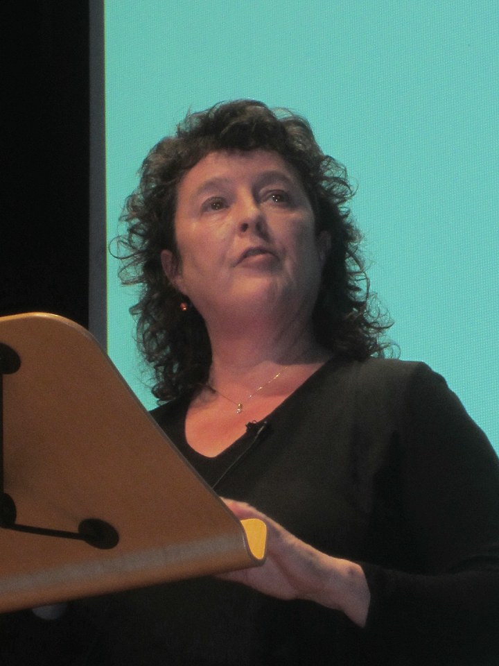 Carol Ann Duffy at Marlborough College's Memorial Hall