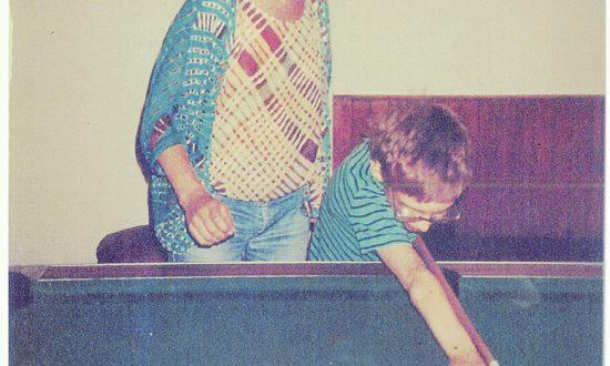 Nina playing pool