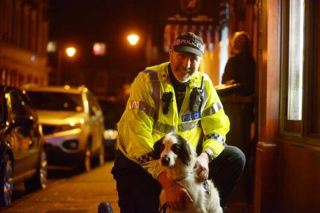 PC Steve Duffy and Patch