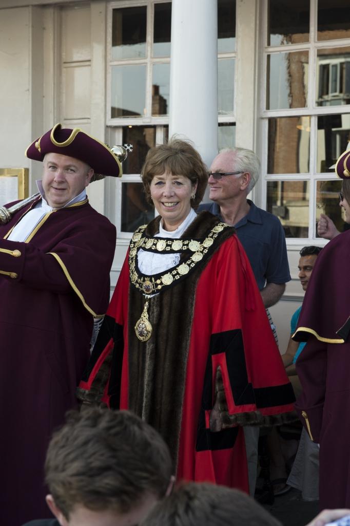 Mayor Councillor Marian Hannaford-Dobson