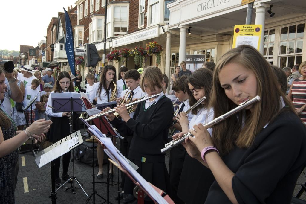 St Johns Academy Jazz Band   (pic:  Neil Goodwin)