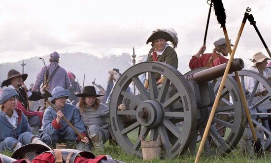 The English Civil War Society in action