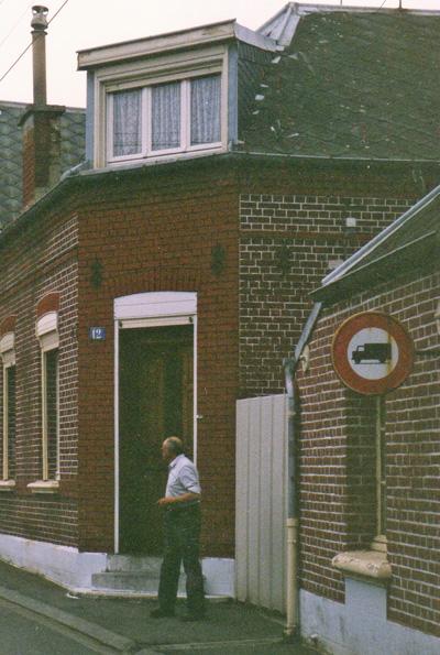 The house in rue de 11 Novembre