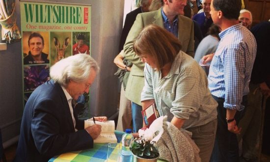 AC Grayling at Marlborough Literature Festival