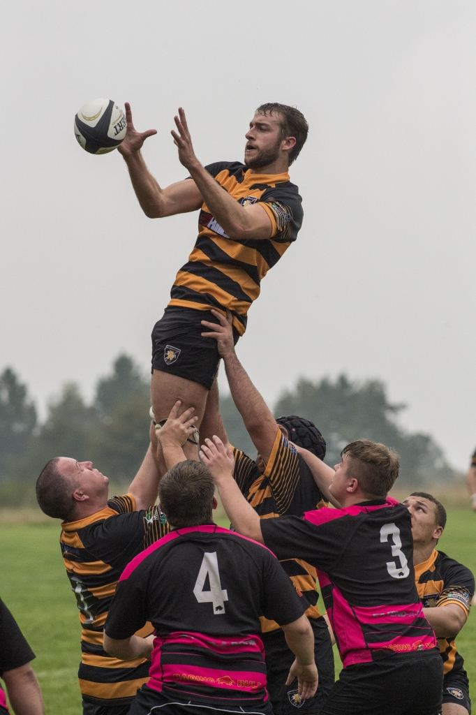 Jamie Pittams hosted by Matt Davies Alex Holland and Jack Lynd wins the line-out