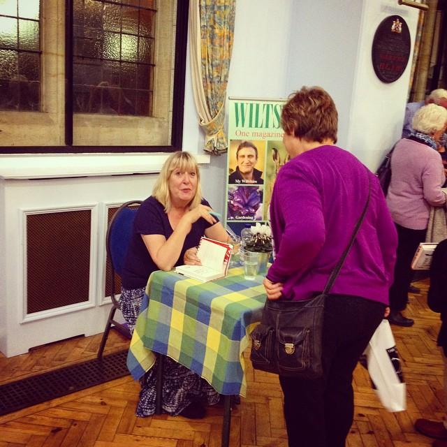 Lynne Truss at Marlborough Literature Festival