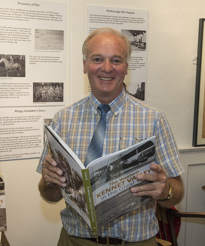Roger Day, author of 'The Western Kennet Valley in the Great War'