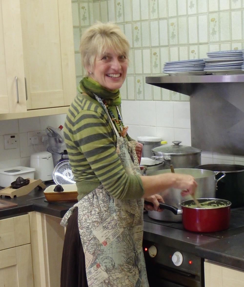 Carole Walker in the Jubilee Centre's kitchen