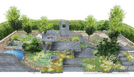 Brewin Dolphin's Chelsea Flower Show garden
