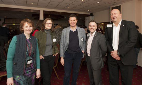 Karen Shergold (Chapter Director), Astrid Kauffman, Mark Blokland, Darren Crannis (Director Consultant – Somerset & Wilts) and James Pike (Executive Director – Somerset & Wilts)