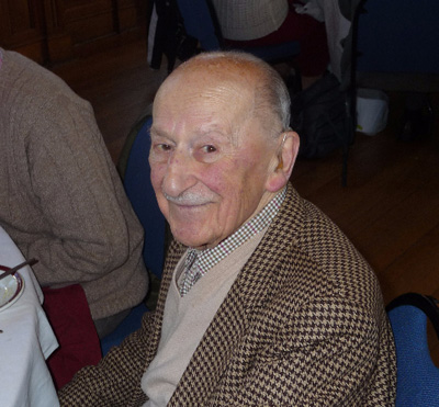 Harry Beckhough at the 2013 Town Hall Christmas lunch