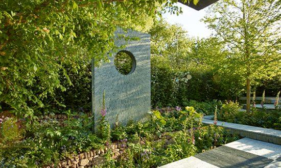 Darren Hawkes' award-winning garden for Brewin Dolphin