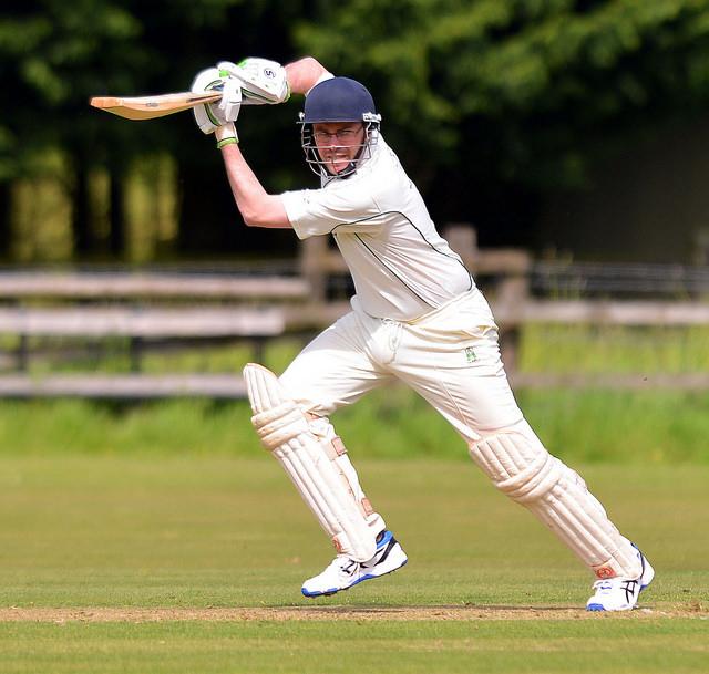 Ben Head - leading the batting in style against Bedwyn