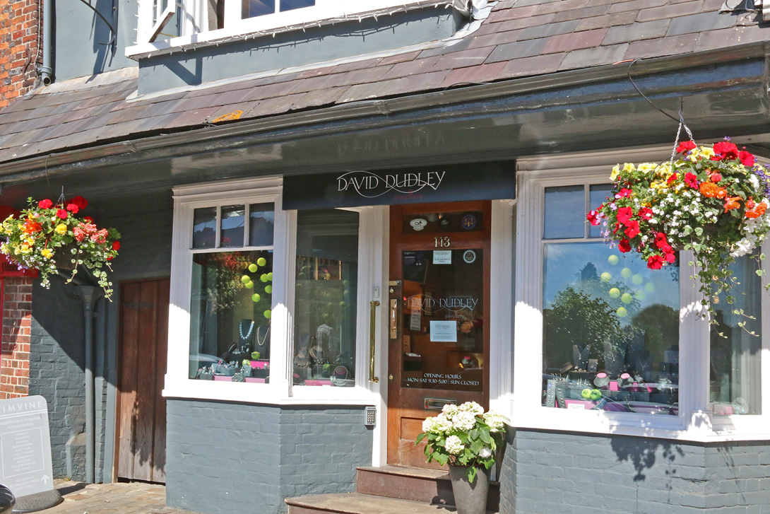 David Dudley's shop in the High Street