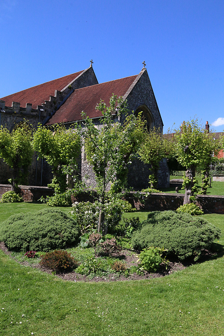 Part of Community Orchard St Marys Church