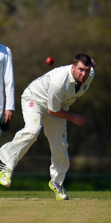 Marlborough's man-of-the-match Brad Frost
