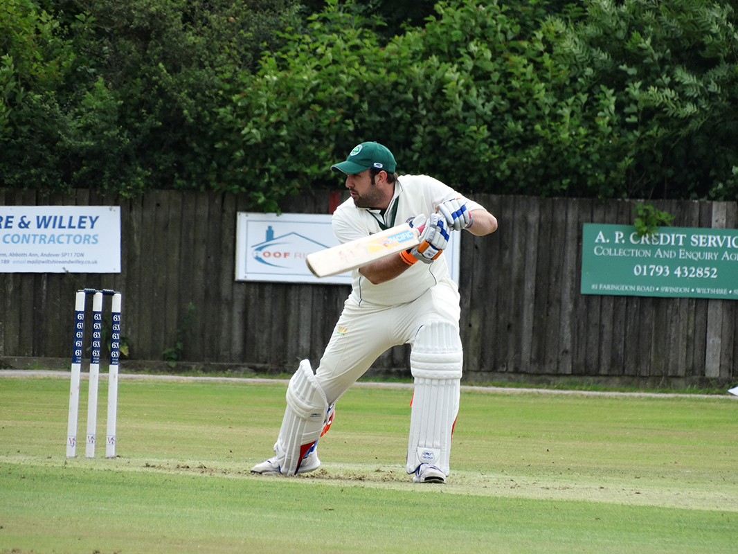 Captain Arran Dickinson leading the way in Saturday's emphatic victory over close rivals Westbury