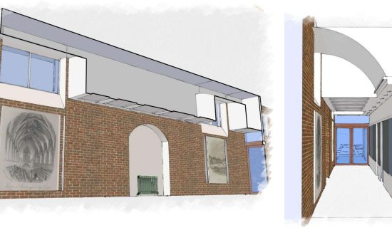 Plans for the Colleges 1.1m re-roofing project