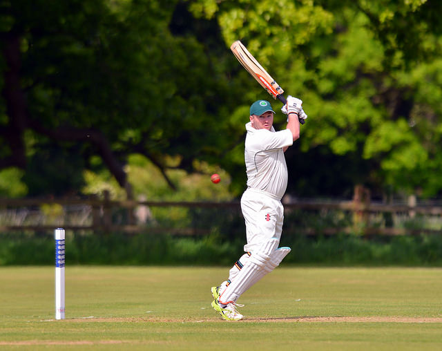 Brad Frost in fine form on Saturday against Calne