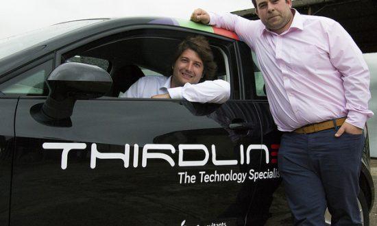 Jack Peploe and Tim Harris of Thirdline