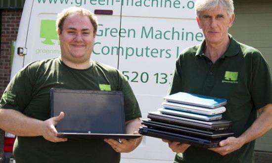 Simon Crisp and Richard Paget of Green Machine
