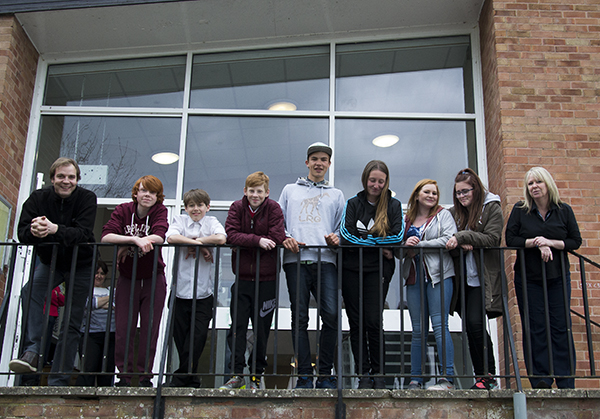 A youth club was relaunched at Marlborough Youth Centre with LYN money