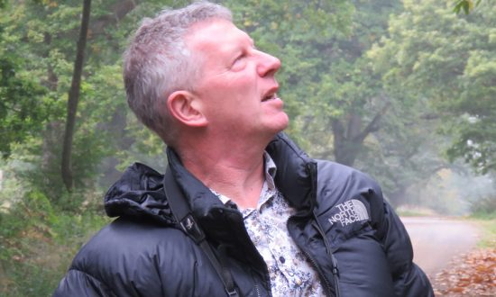 Stephen Moss in Savernake Forest