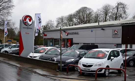 The rebranded Now Vauxhall site in Marlborough