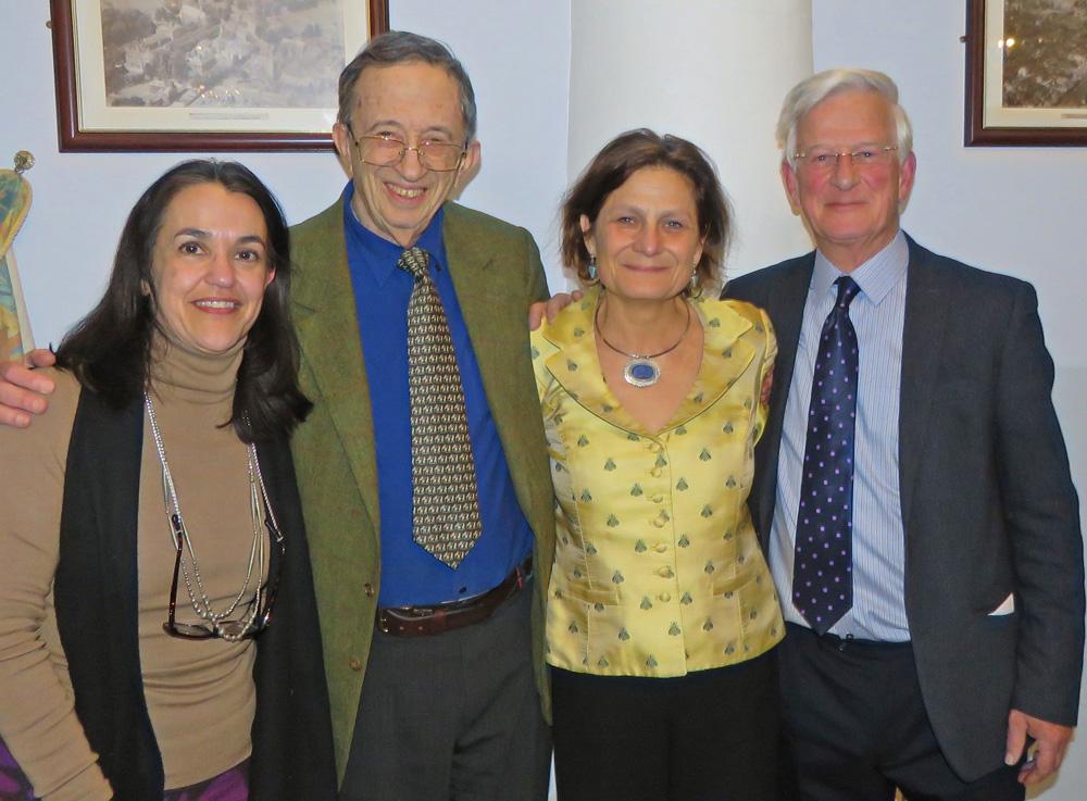 Karen Bulsara (Marlborough Brandt Group's new director), Lord Joffe, Harriet Lamb, Dr Nick Maurice