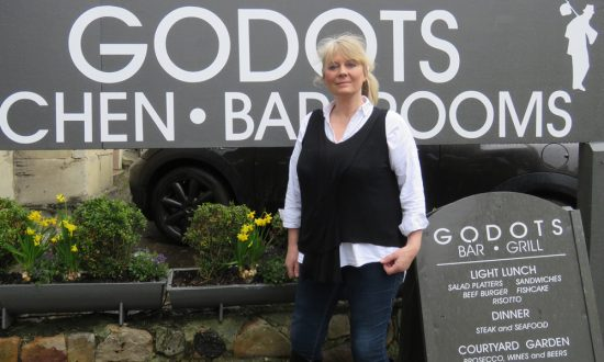 Godots' Lesley Powell