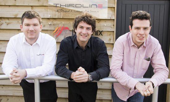 Daniel Matthews Jack Peploe and Alistair Reynolds of Thirdline