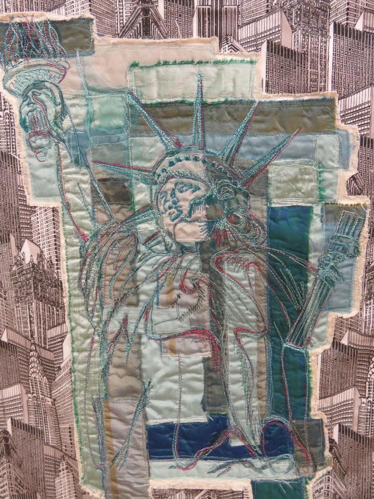Detail of Nichola Vesey Williams' 'New York, New York'
