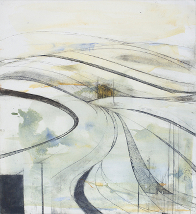 Amanda Ralfe: 'Wiltshire landscape'