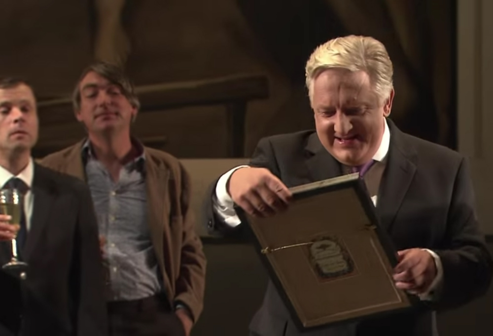 Simon Russell Beale as Timon in the National Theatre production