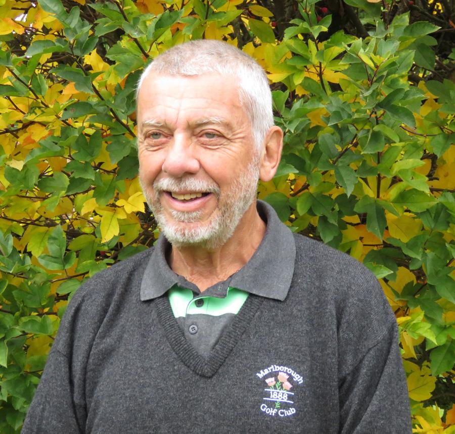 Mike Tupman in civvies & in his garden...