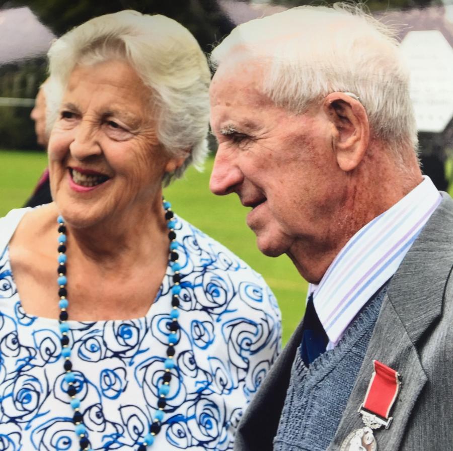 Mary and John Powell