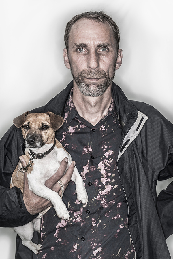 Will Self image courtesy of Chris Close