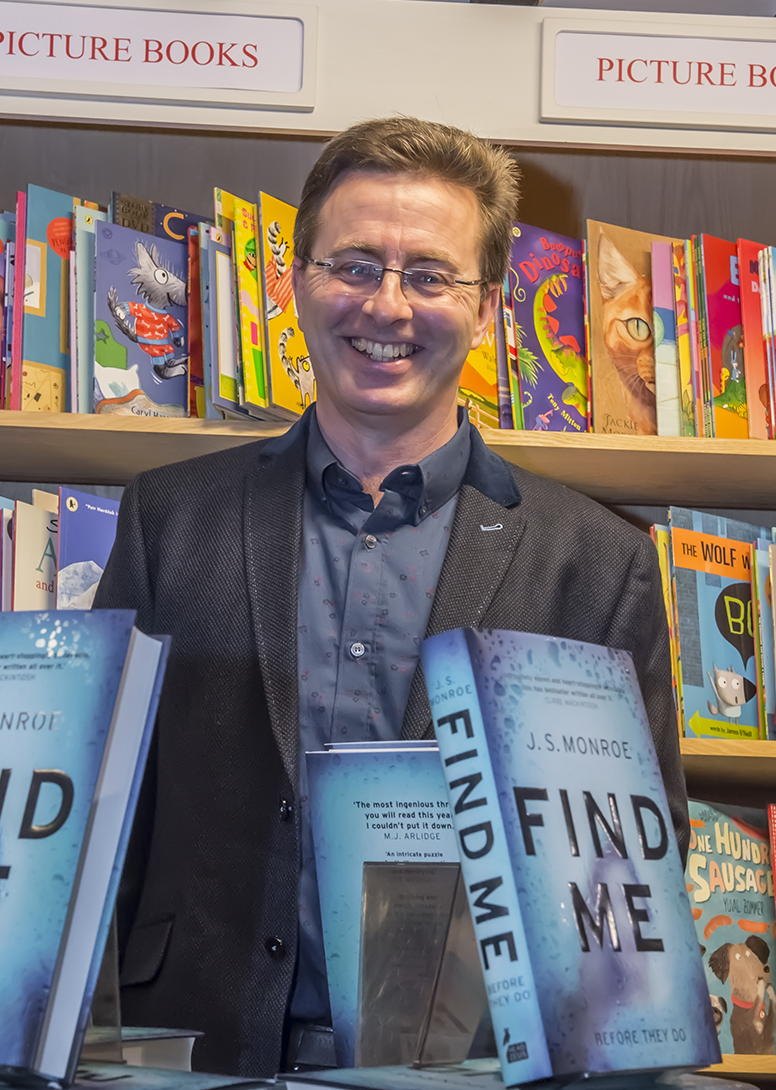 Jon Stock at last night's launch of 'Find Me'