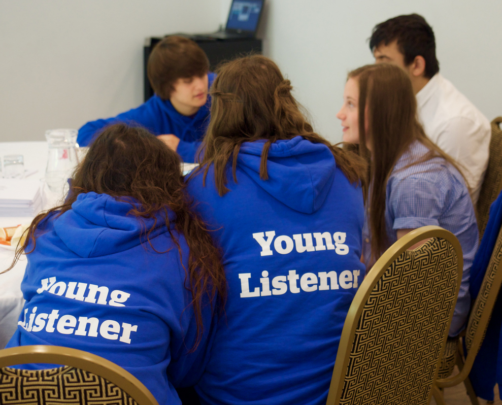 Healthwatch Wiltshire's Young Listeners in action