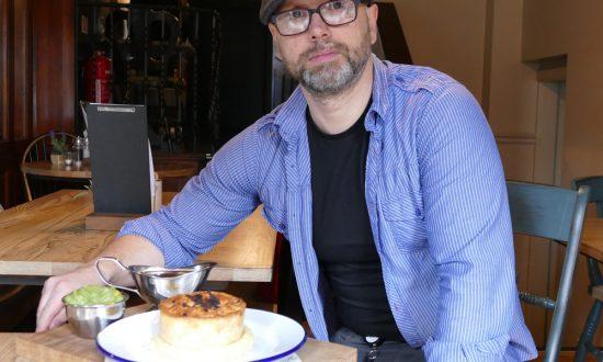 Szymon…and sample pie